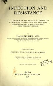 Infection and resistance by Hans Zinsser