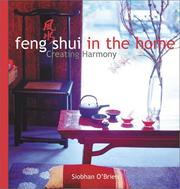 Cover of: Feng shui in the home | Siobhan O