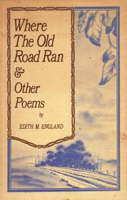 Cover of: Where the old road ran