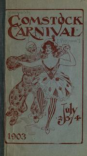 Cover of: Comstock Carnival, July 2, 3, 4, 1903