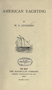 Cover of: American yachting