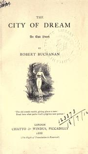 Cover of: The city of dream
