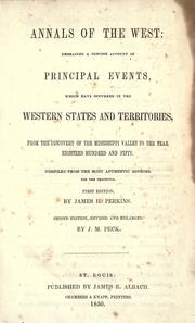 Cover of: Annals of the West