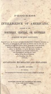 Cover of: Progress & intelligence of Americans by