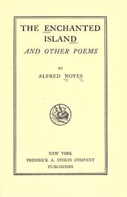 Cover of: The Enchanted Island: And Other Poems