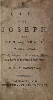 Cover of: Life of Joseph