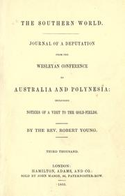 Cover of: The southern world