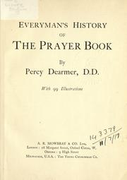 Cover of: Everyman's history of the prayer book
