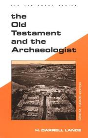 Cover of: The Old Testament and the Archaeologist | H. Darryll Lance