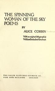Cover of: The spinning woman of the sky