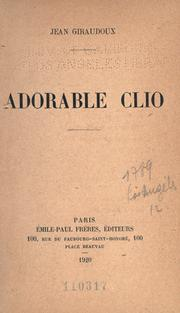 Cover of: Adorable Clio