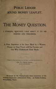 Cover of: The money question