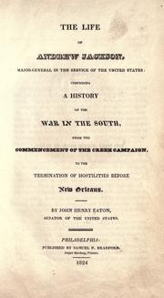 Cover of: The life of Andrew Jackson