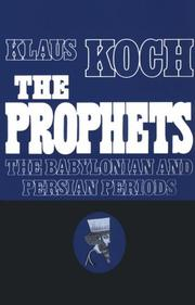 Cover of: The prophets