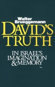 Cover of: David's truth in Israel's imagination & memory