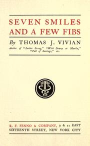 Cover of: Seven smiles and a few fibs