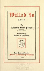 Cover of: Walled In