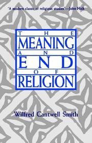Cover of: The meaning and end of religion