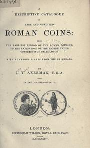 Cover of: A descriptive catalogue of rare and unedited Roman coins