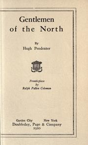 Cover of: Gentlemen of the North