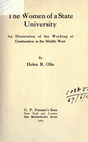 Cover of: The women of a State University
