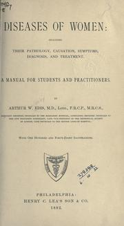 Cover of: Diseases of women