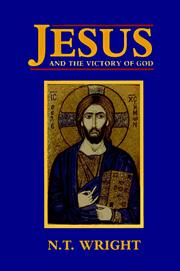 Cover of: Jesus and the Victory of God (Christian Origins and the Question of God, Volume 2)