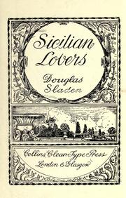 Cover of: Sicilian lovers