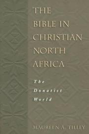 Cover of: The Bible in Christian North Africa