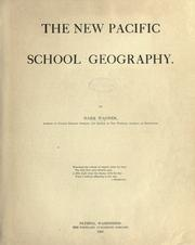 Cover of: The new Pacific school geography