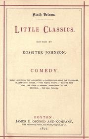 Cover of: Comedy .
