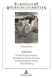 Cover of: AutoCars