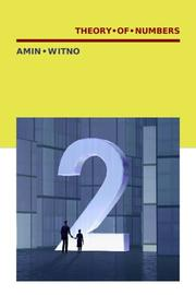 Cover of: Theory of Numbers by Amin Witno