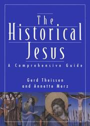 Cover of: The historical Jesus | Gerd Theissen