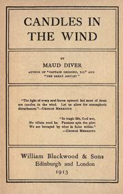 Cover of: Candles in the wind