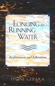 Cover of: Longing for Running Water (Biblical Reflections on Ministry)