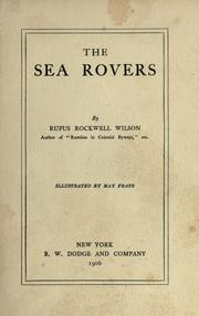 Cover of: The sea rovers