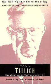 paul tillich dynamics of faith