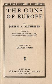 Cover of: The Guns of Europe