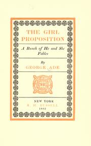 Cover of: The girl proposition