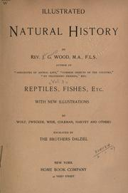 Cover of: The illustrated natural history
