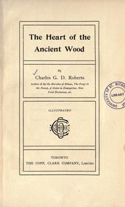 Cover of: The heart of the ancient wood