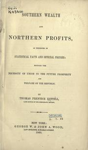 Cover of: Southern wealth and northern profits
