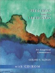 Cover of: Preaching from the Lectionary | Gerard S. Sloyan