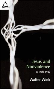 Cover of: Jesus and nonviolence