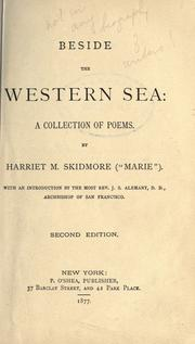 Beside the western sea by Skidmore, Harriet M.