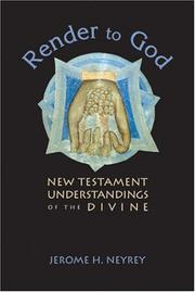 Cover of: Render to God | Jerome H. Neyrey