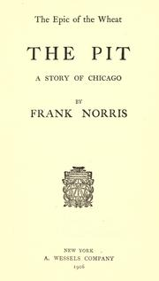 Cover of: The  pit | Frank Norris