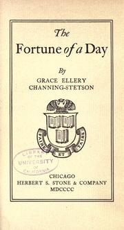 Cover of: The fortune of a day