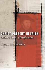 Cover of: Christ present in faith